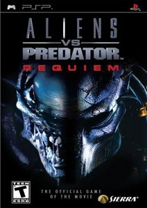 Aliens vs Predator: Requiem (CSO) PSP